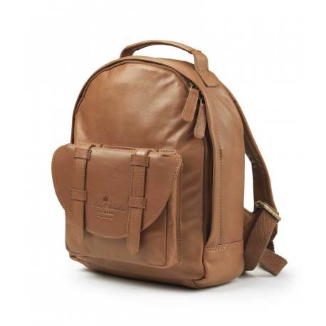 Mochila Mini ELODIE DETAILS Chestnut Leather