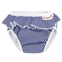 Bañador pañal Rayas azul
