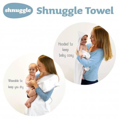 Capa de baño delantal Shnuggle