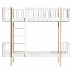 Litera Wood Oliver Furniture White/Oak