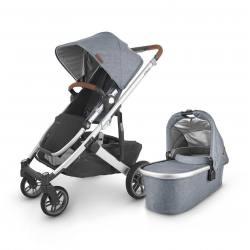 Carrito de bebé dúo UPPAbaby CRUZ V2 Gregory (azul gris melange)