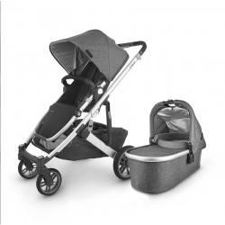 Carrito de bebé dúo UPPAbaby CRUZ V2 Jordan (gris melange)