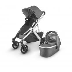 Carrito de bebé dúo UPPAbaby VISTA V2 Jordan (gris melange)