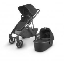 Carrito de bebé dúo UPPAbaby VISTA V2 Jacke (total black)