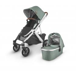 Carrito de bebé dúo UPPAbaby VISTA V2 Emmett (verde melange)