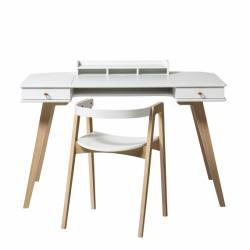 Junior Escritorio y sillón Wood h72,6cm Oliver Furniture