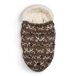 Saco de borreguito para silla Elodie White Tiger