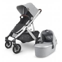 Carrito de bebé dúo UPPAbaby VISTA V2 STELLA (Gris cepillado)