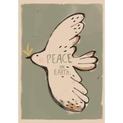 Lámina Decorativa Peace 50*70