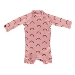 Traje UPF50 para bebé Pink Rainbow