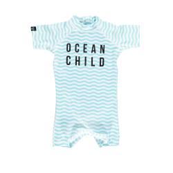 Traje de baño UPF50 para bebé Ocean Child
