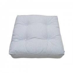 Cojín de suelo Striped Blue Oliver Furniture