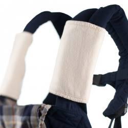 Protege tirantes para mochila ergonómica algodón