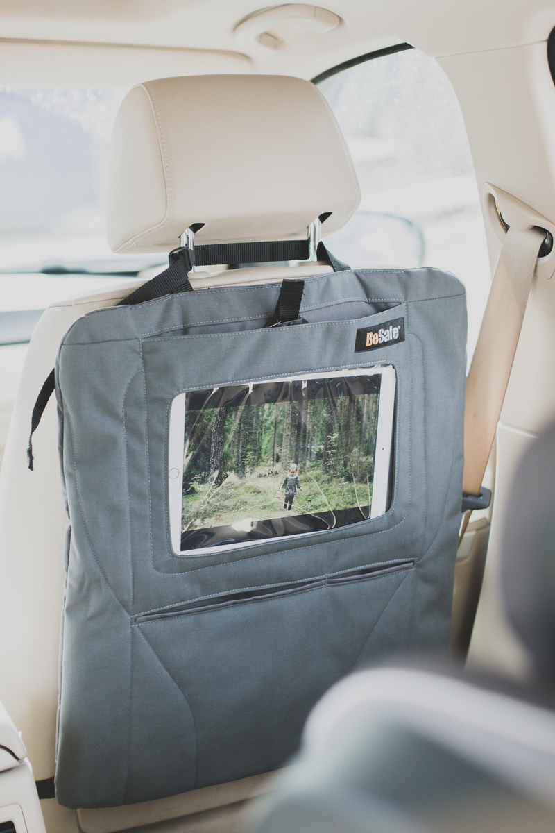 Protector asiento porta tablet