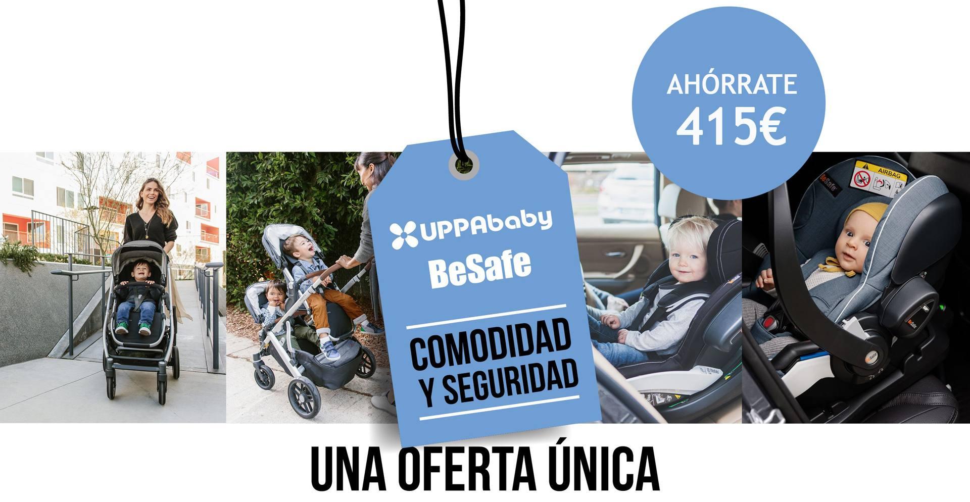 Promo UPPAbaby + BeSafe