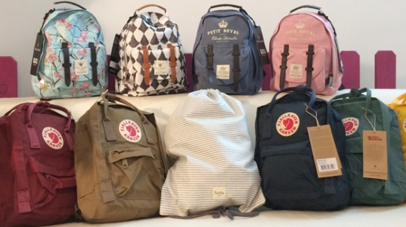 Operación guardería (I): mini mochilas