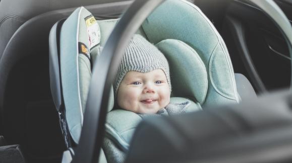 Las tres sillitas de bebé más seguras